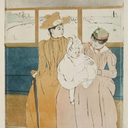 Cassatt, In the Omnibus
