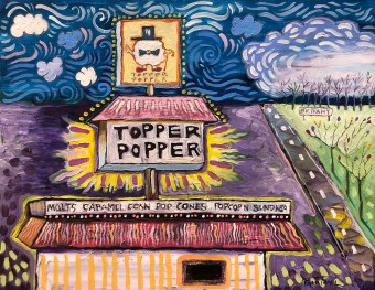 Christmas at the Topper Popper